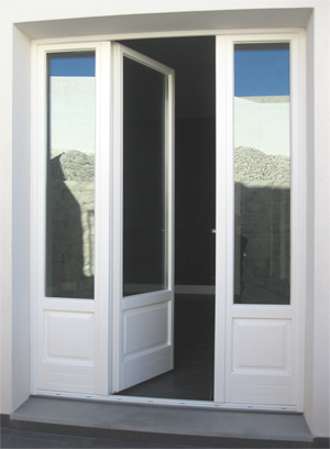 Portefinestre in legno - Orvi porte e finestre ...